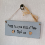 Wooden Plaque With Colour Options